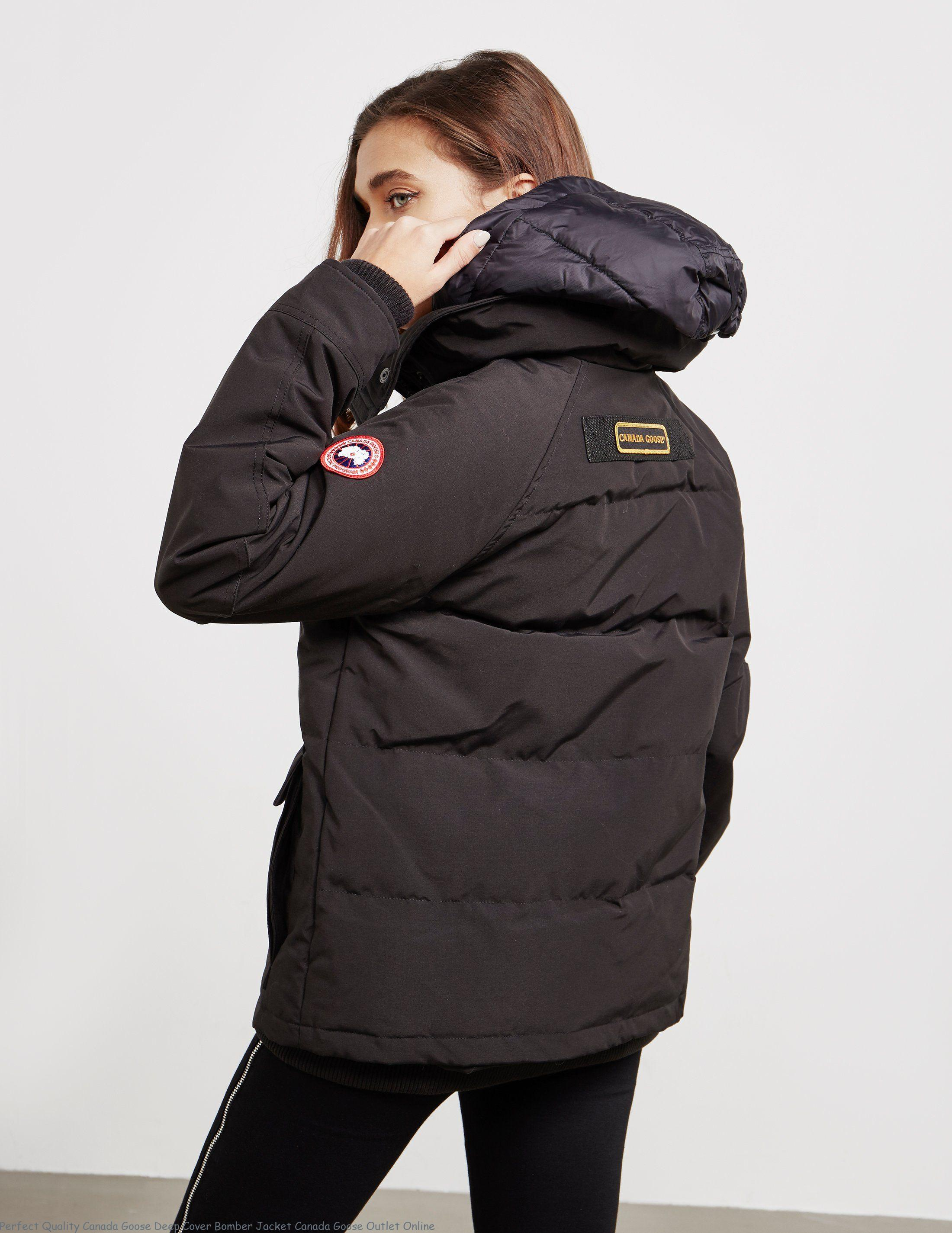 Perfect Quality Canada Goose Deep Cover Bomber Jacket Canada Goose Outlet  Online – Canada Goose Outlet Sale – Best Canada Goose Jackets fe947c2a9855