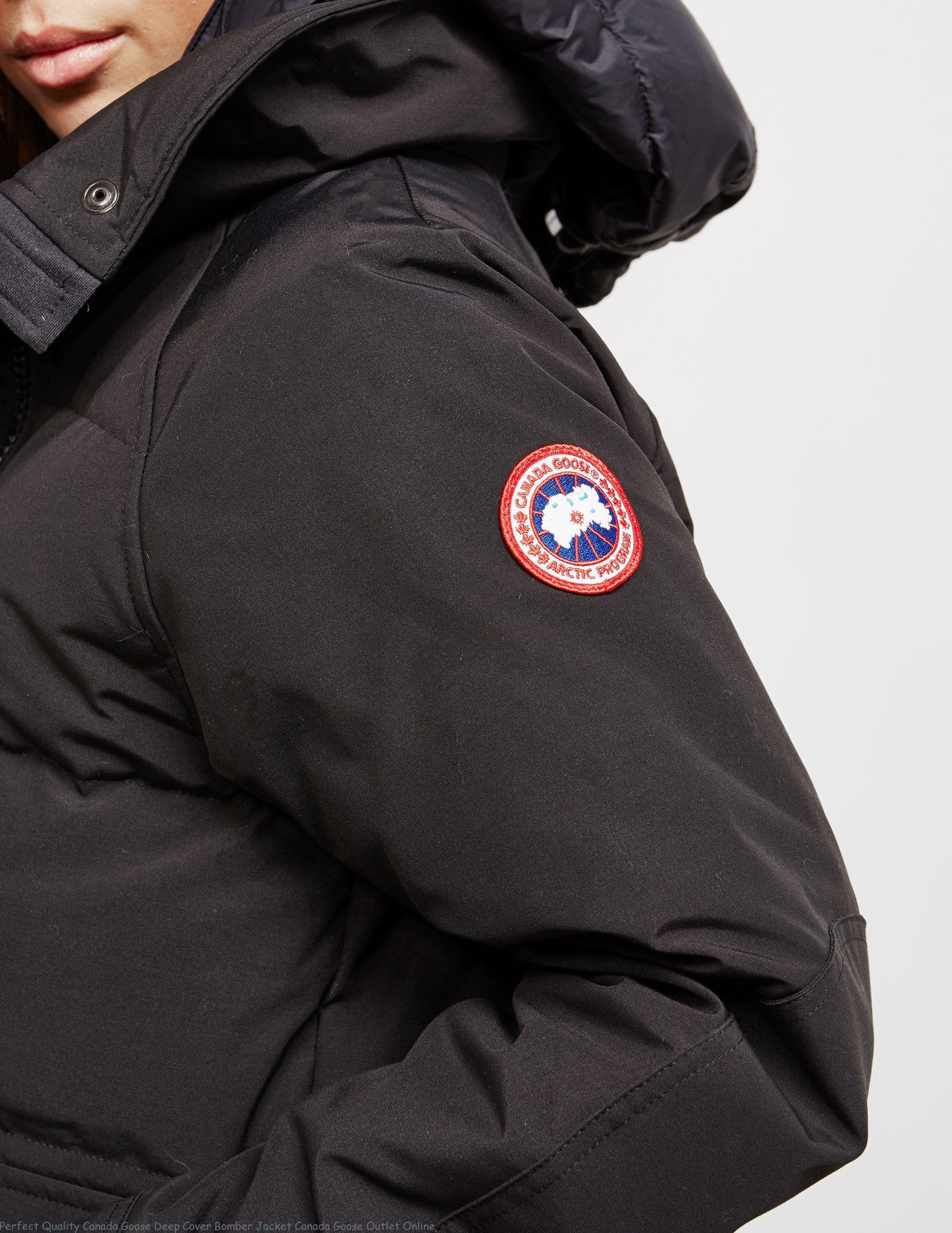 Perfect Quality Canada Goose Deep Cover Bomber Jacket Canada Goose Outlet Online